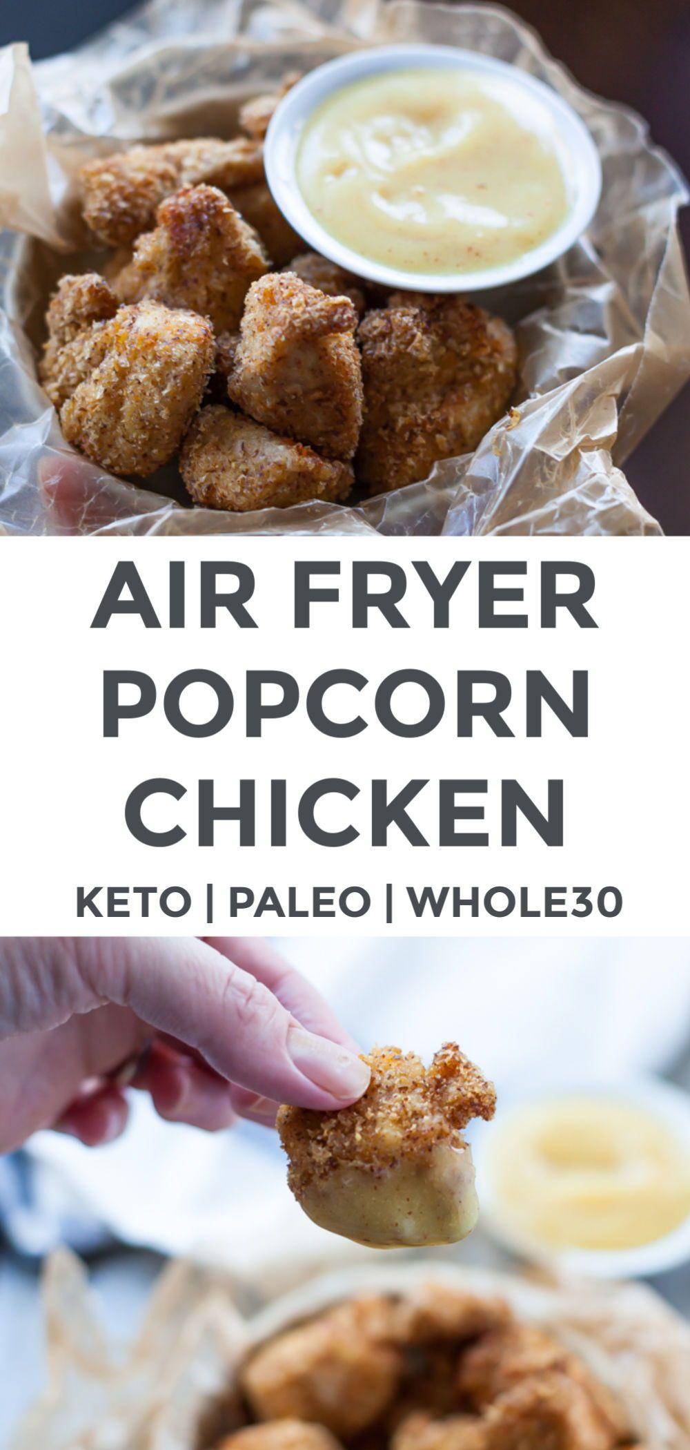 Air Fryer Popcorn Chicken Recipe in 2020