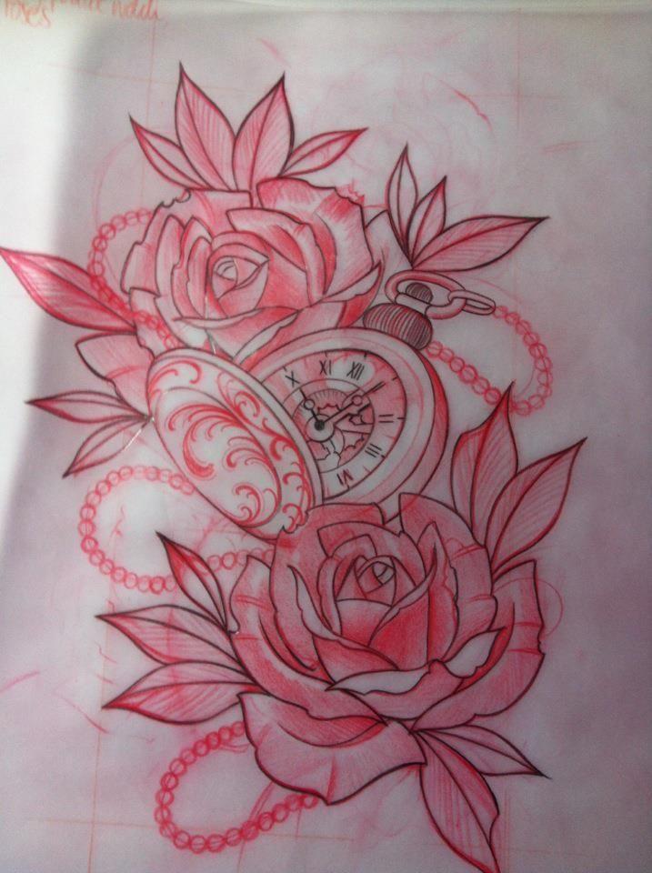 tattoo inspiration tattoo uhren kompass sanduhren. Black Bedroom Furniture Sets. Home Design Ideas