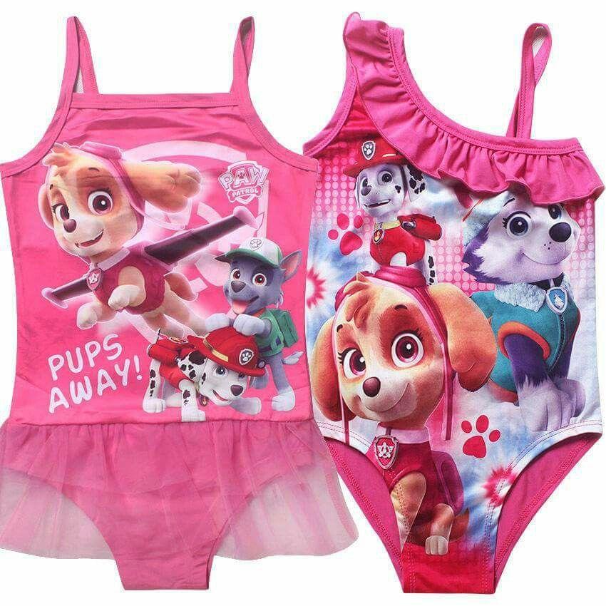 Paw Patrol Everest Skye Puppy Dog Nightdress Nightie sizes from 2 to 6 Years 3-4 Years