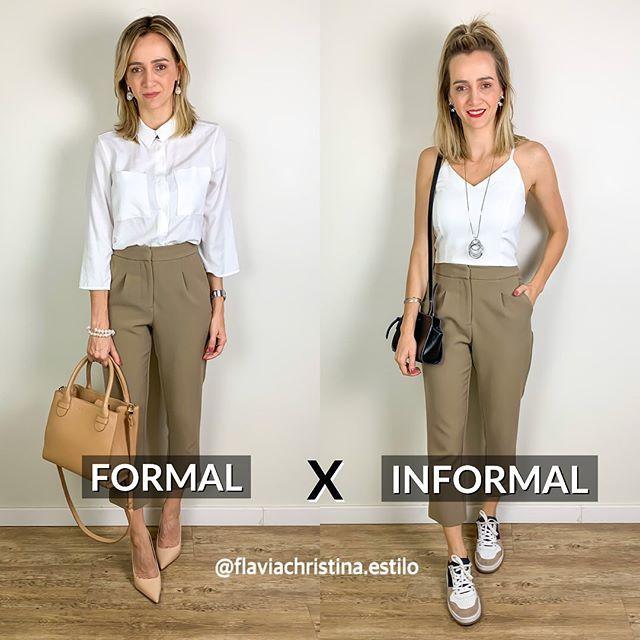 """Consultora de imagen y estilo en Instagram: """"Dos opciones de apariencia similar, pero con propuestas muy diferentes. Mientras que el primero tiene una huella más grave, el segundo es más … """""""