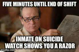 Funny Correctional Officer Meme : Inmates jump correctional officers in a cook county prison wtf