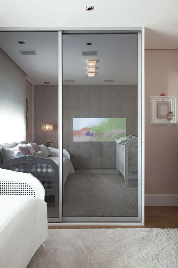 Guarda Roupa Bebe ~ Quartinho cinza e rosa Constance Zahn Quartos, Kids s and Bedrooms