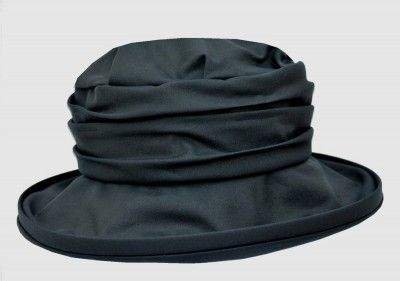 This style is very flattering for most face shapes and the waxed 100% cotton hat is shower-proof and suitable for all those spring, autumn and winter occasions. $