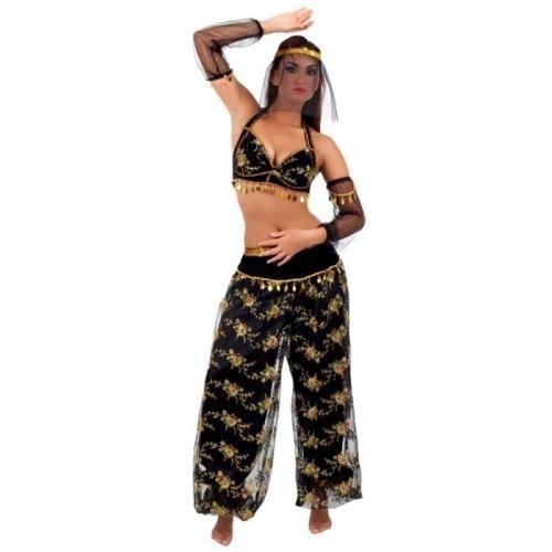 Bauchtanzerin Kostum Fasching Damenkostum Orient Kostum