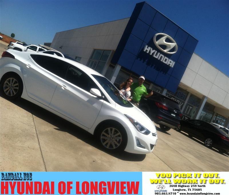 Congratulations to Lauren Bjork on your #Hyundai #Elantra purchase