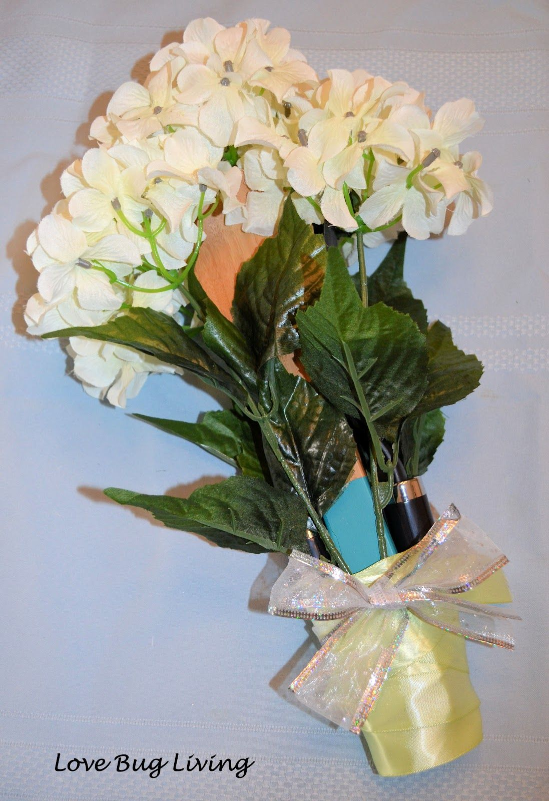 Wedding Shower Gift: Kitchen Utensil Bouquet & Holder ...