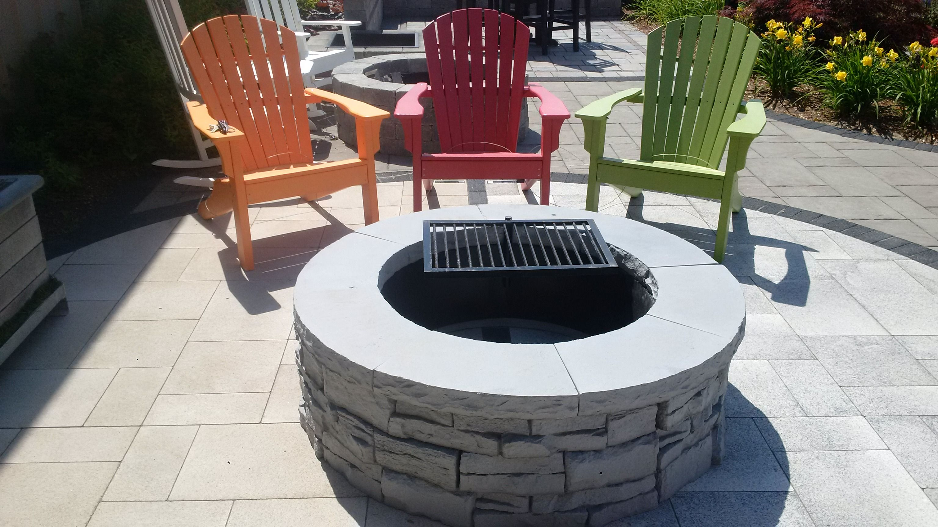 New For 2015 The Rivercrest Fire Pit Kit Has An Outside