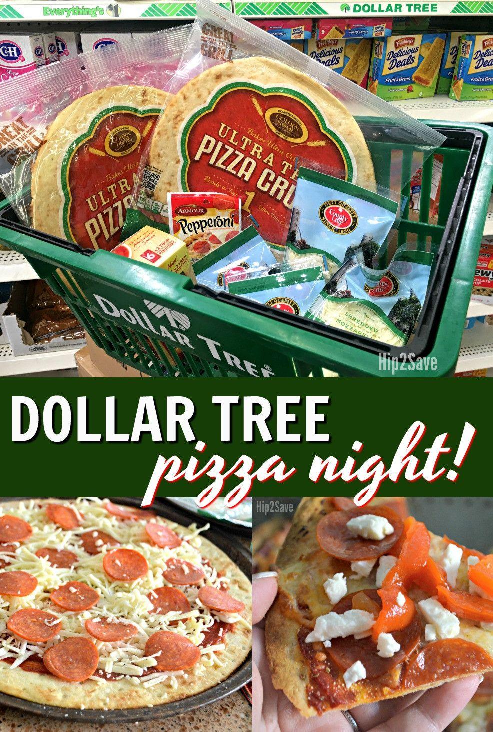 Dollar Tree Pizza Night Each Ingredient Just 1 Pizza Night