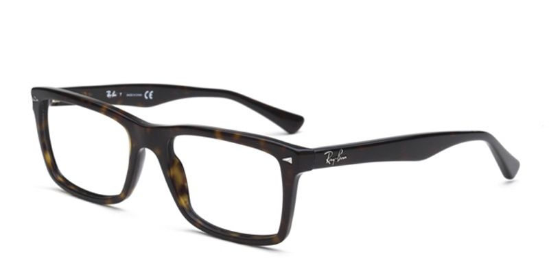418a03fcff Ray-Ban 5287 Dark Havana Prescription Eyeglasses. Ray-Ban 5287 Dark Havana  Prescription Eyeglasses Prescription Glasses Online
