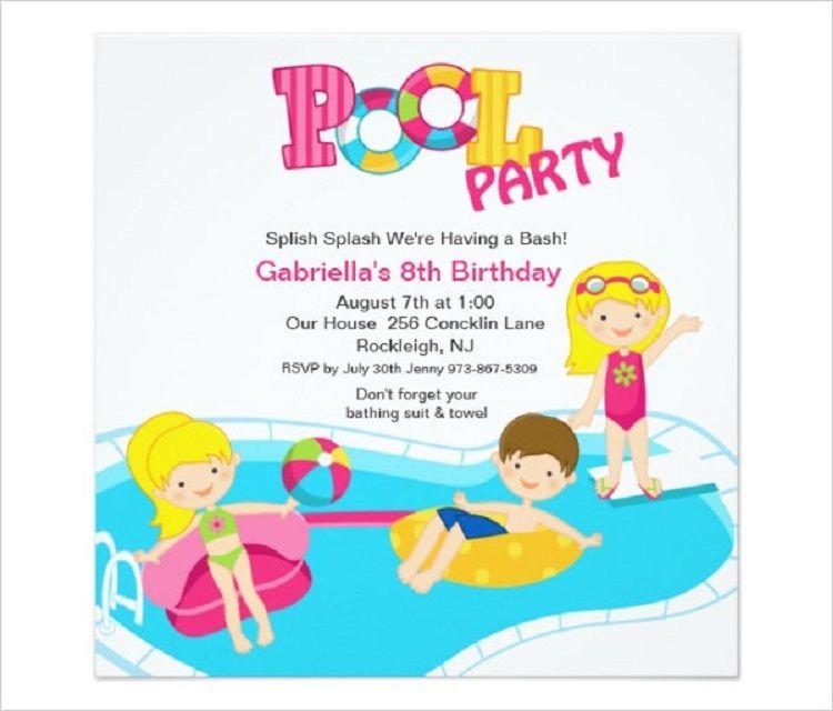 vector birthday invitation example Party ideas Birthday
