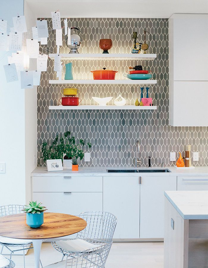 Heath Ceramics Kitchen Backsplash