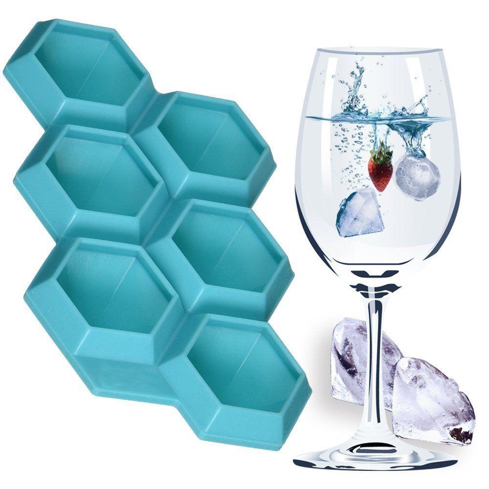 AmazonSmile: Silicone Diamond Ice Cube Trays + Whiskey ice sphere ...