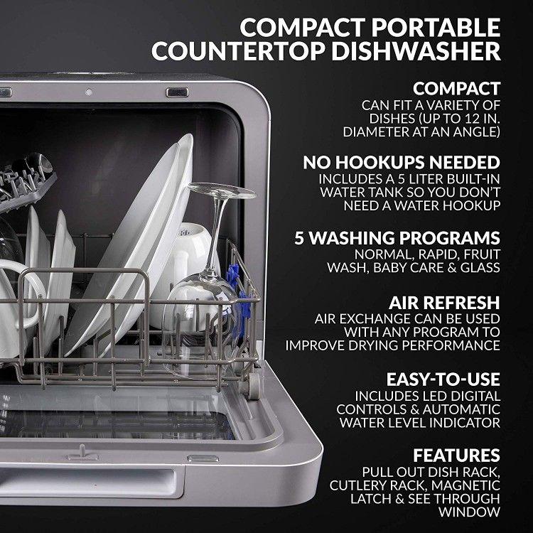 Farberware Dishwasher In 2020 Countertop Dishwasher Portable