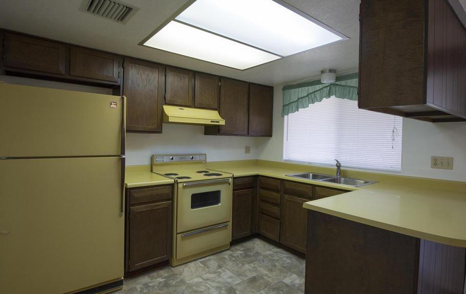 kitchens original vintage harvest gold oven range exhaust hood kitchen      rh   pinterest com
