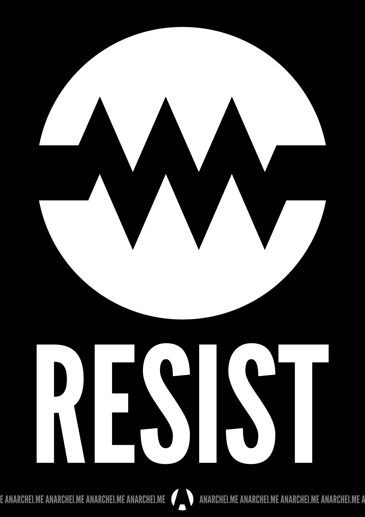 Component Resist Anarchei Symbol For Resistance In A Circuit Tumblr
