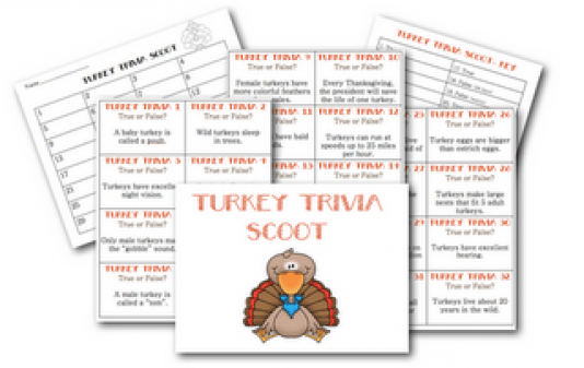Classroom Freebies: Thanksgiving Round-Up activities