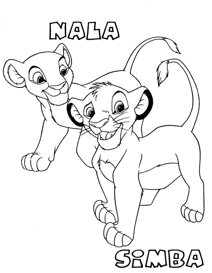 Lion Simba And Lion Nala | Lions And Tigers | Pinterest | Face ...