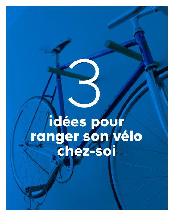 Ranger un vélo dans son appartement, ce n\u0027est pas toujours simple