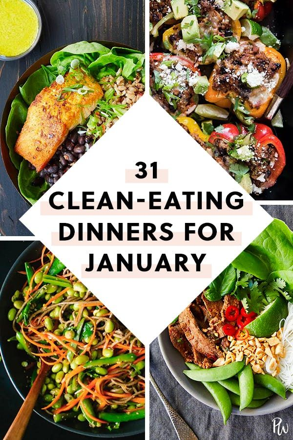 31 Clean-Eating Dinners (That Taste Dirty) to Make Each Night in January images