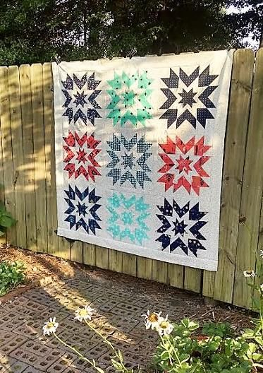 Lindy Star Quilt Pattern