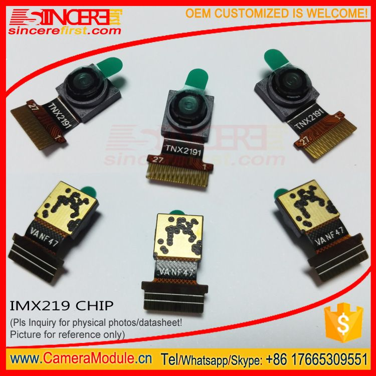 1/4 inch 8MP MIPI CMOS Fixed Focus SONY IMX219 Camera Module
