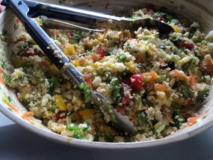 The Best Quinoa Salad In The World!!