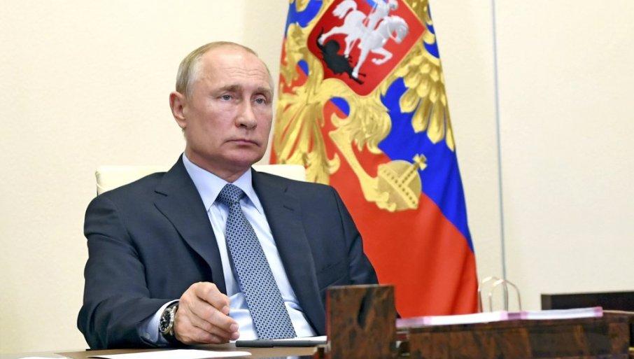 Druga Ruska Vakcina Protiv Virusa Korona Bice Registrovana U Najskorije Vreme Saopstio Je Predsednik Rusije Vladimir Putin The Past Moscow Internal Affairs