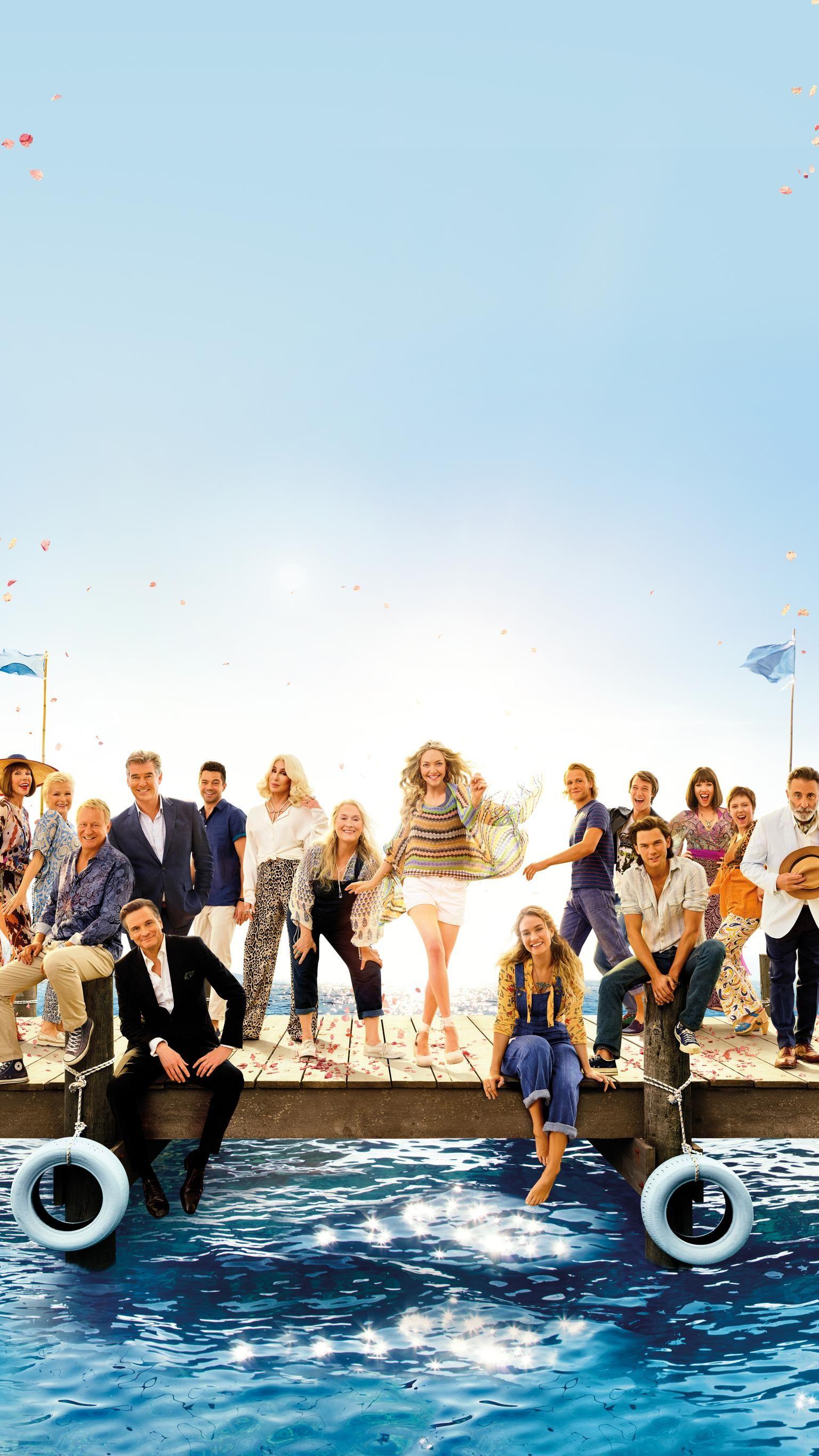 Mamma Mia Here We Go Again 2018 Phone Wallpaper Moviemania Mamma Mia Mama Mia Mamma