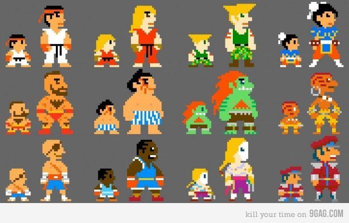 8bit Fighter Street Fighter Characters Street Fighter Street