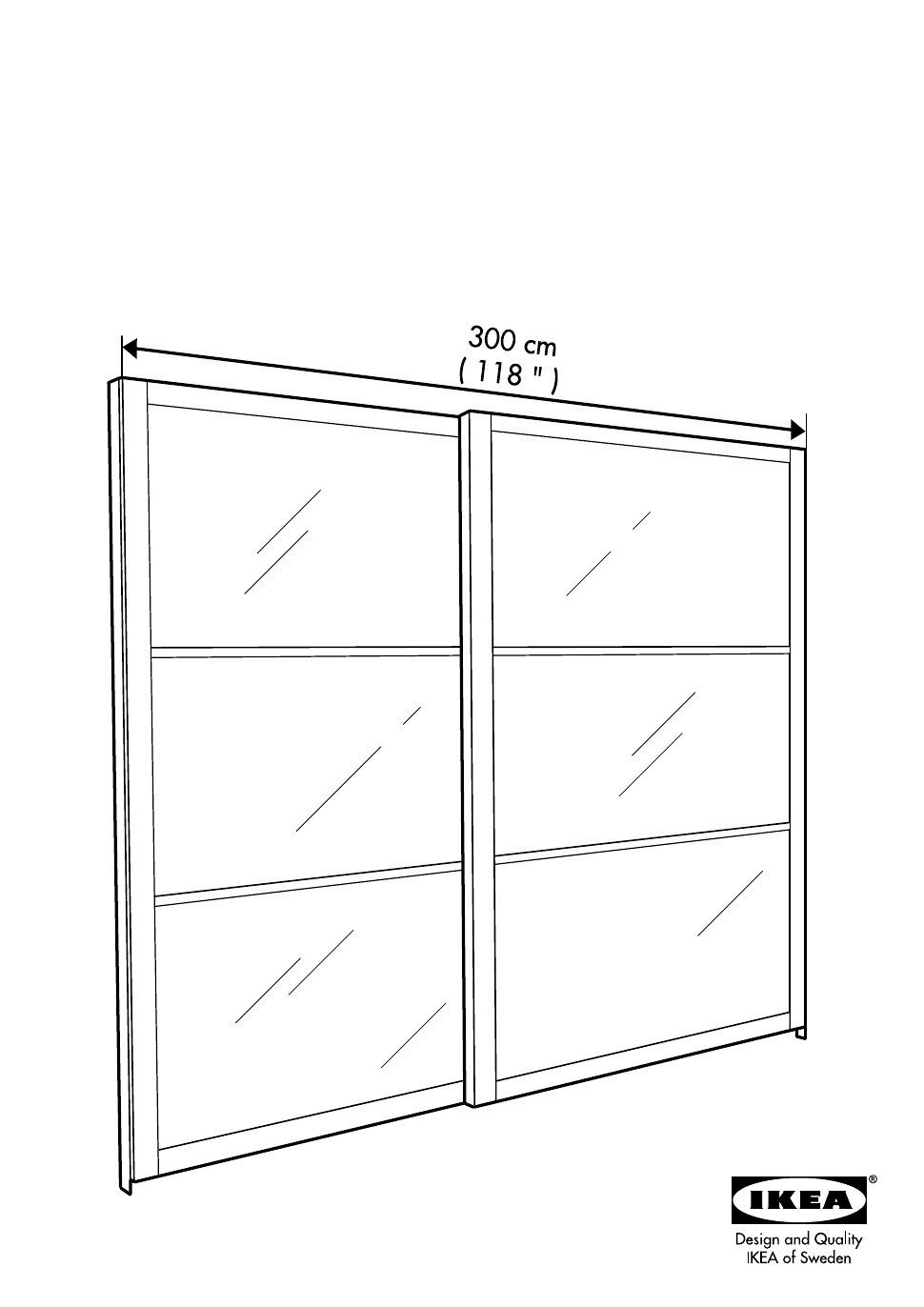 Background Image Lyngdal Ikea Pax Sliding Doors