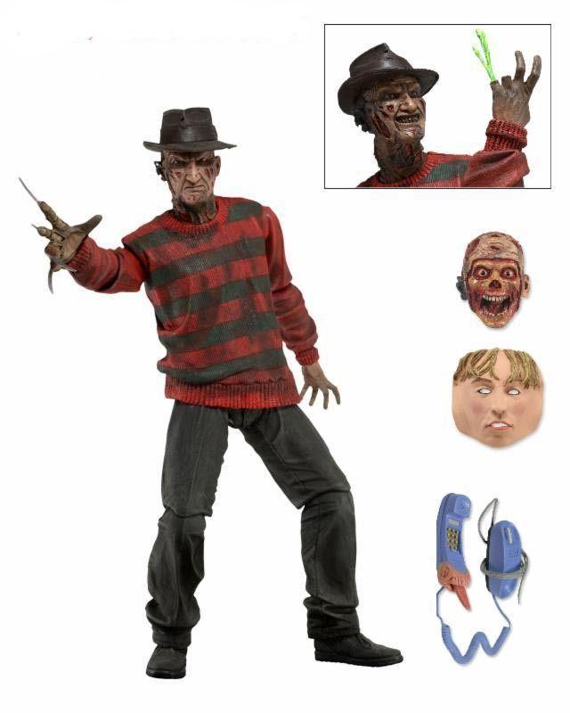 NECA A Nightmare on Elm Street Freddy Krueger 30th PVC Action Figure