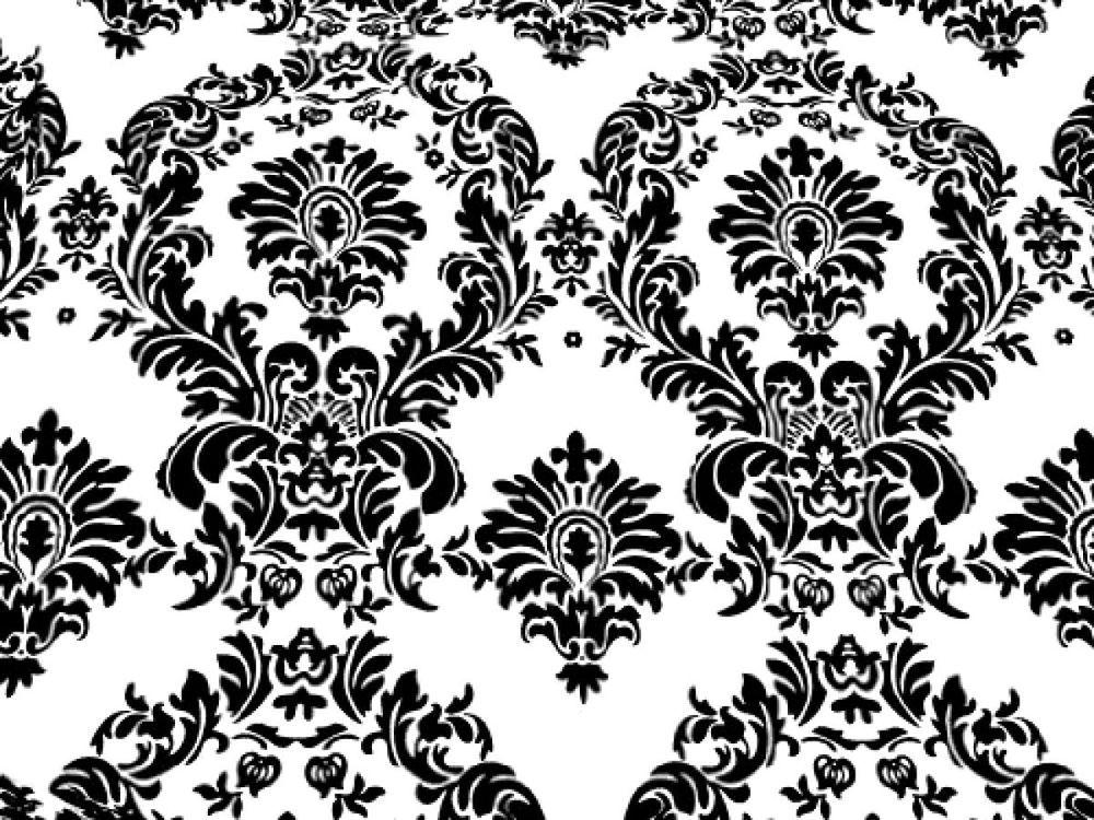 Black Taffeta Fabric Damask Fabric By The Yard Sewing Equipment Flocked Fabric