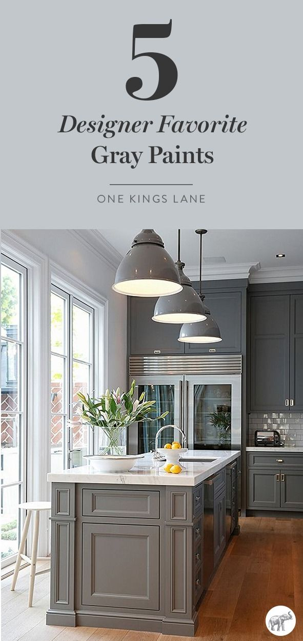 Best 5 Gorgeous Gray Paint Colors For Your Kitchen Grey 400 x 300
