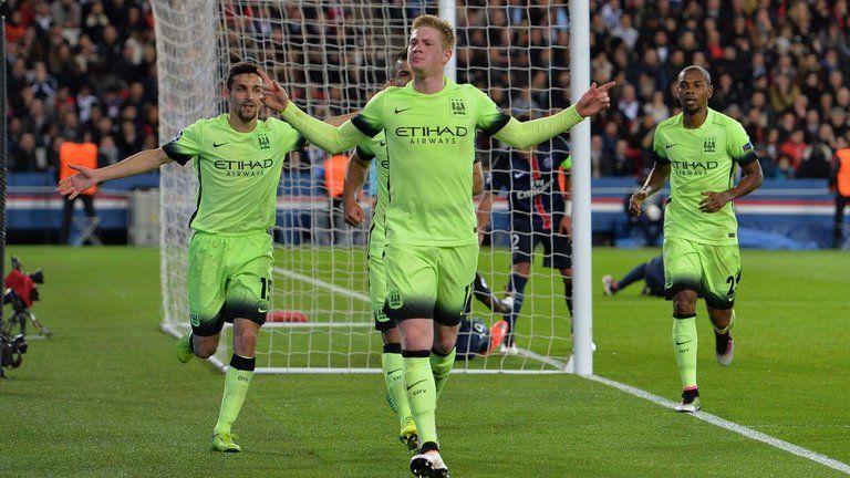 PSG 22 Man City Premier League side grab crucial away