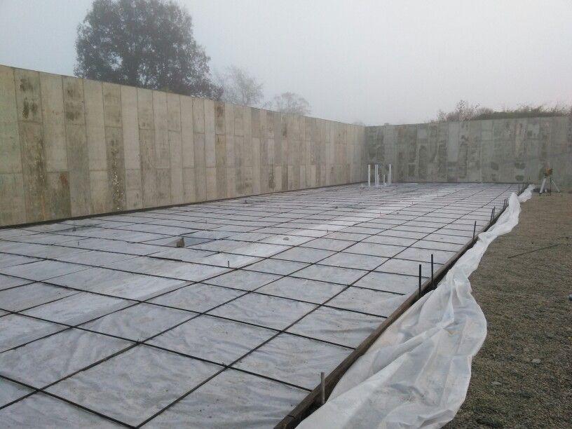 50 Yard Concrete Slab Ready To Be Poured Concrete Concrete Slab Outdoor Decor