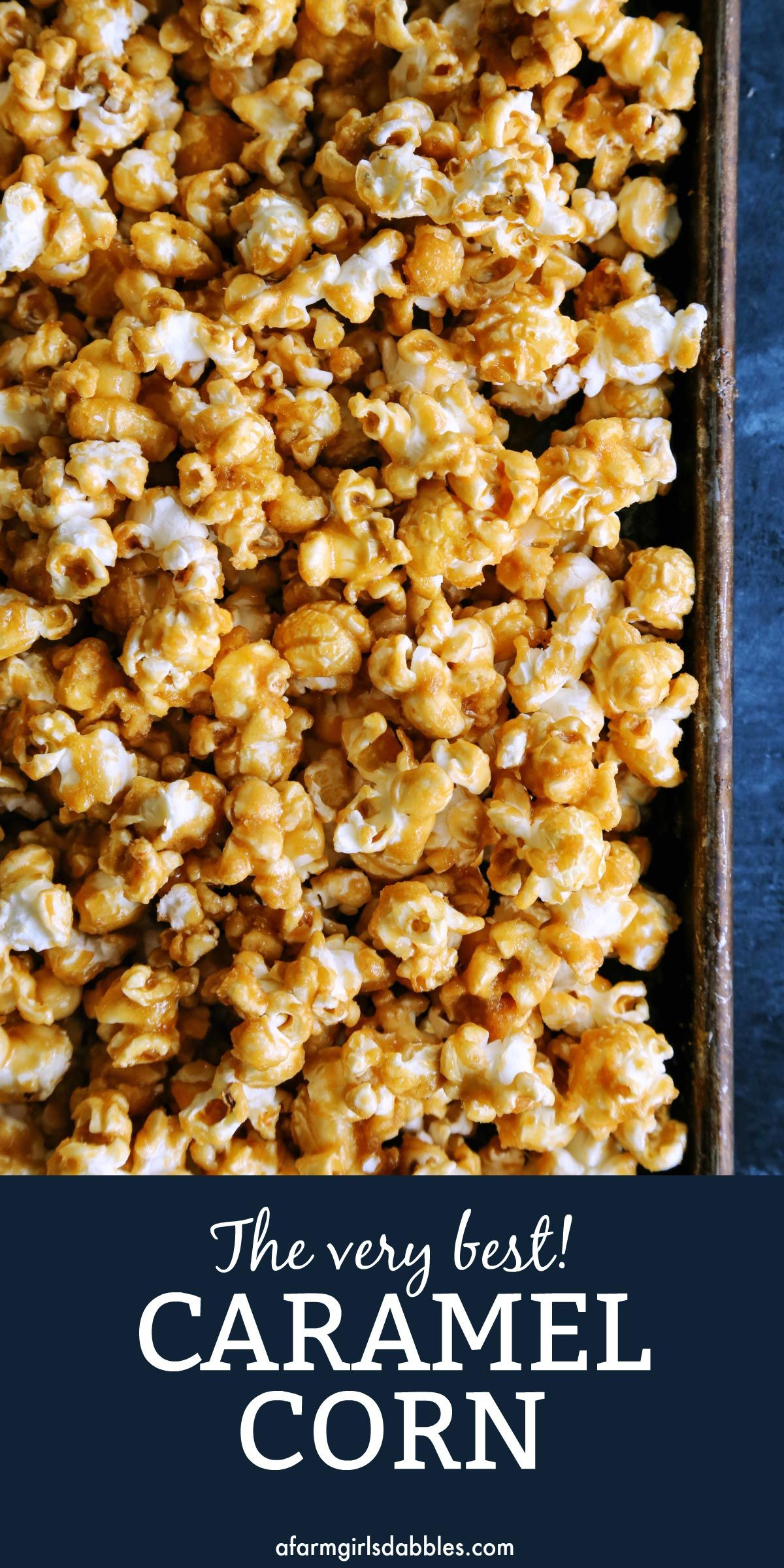 Oven-Baked Caramel Corn: So much better than store-bought!