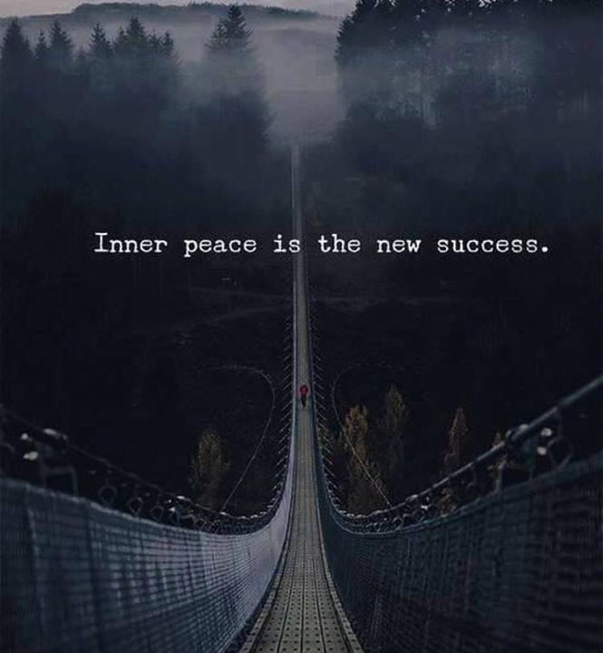 Inspirational Positive Quotes :Inner peace..