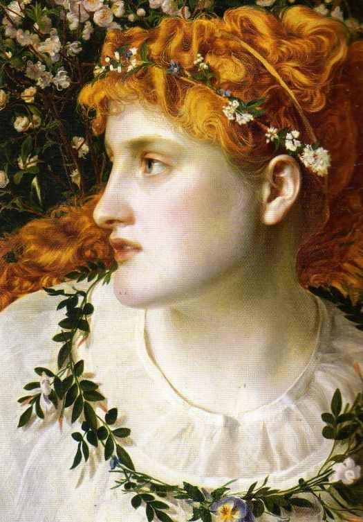 pre raphaelite art | Pre Raphaelite Art: Frederick Sandys - Perdita