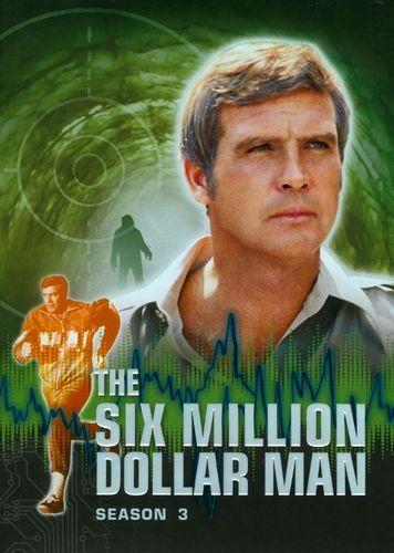 The Six Million Dollar Man The Complete Season Three 6 Discs Dvd Best Buy Old Tv Shows Childhood Memories My Childhood Memories