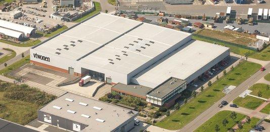 GROZA Nieuw distributiecentrum voor vtwonen van 10.000 m2 http://www.groza.nl www.groza.nl, GROZA