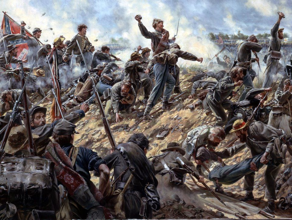 Image result for Confederates throwing stones pic
