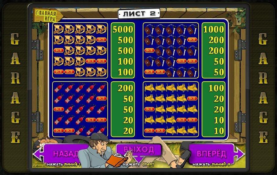 Игровые автоматы скачать бесплатно garages похвальное слово о фильме казино рояль