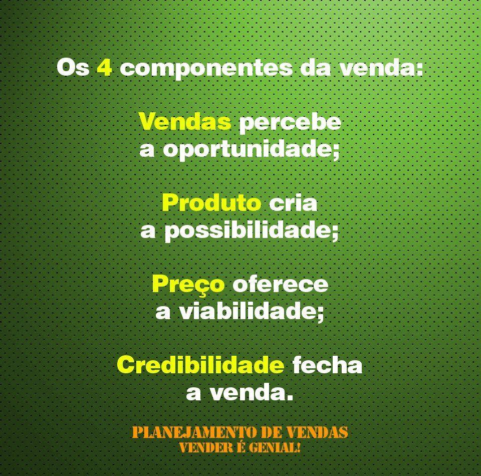 Dicas De Vendas Os 4 Componentes Da Venda Profissão Treinamento
