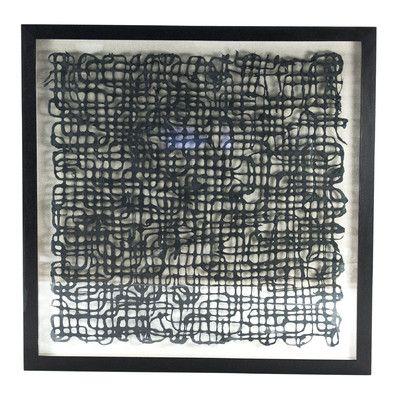 Zentique Abstract Paper Wall Decor Wayfair Abstract Paper Black And White Wall Art Paper Wall Art
