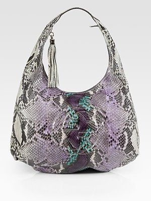 4aaa2ee0185b Gucci Soho Large Python Hobo Bag for only 3