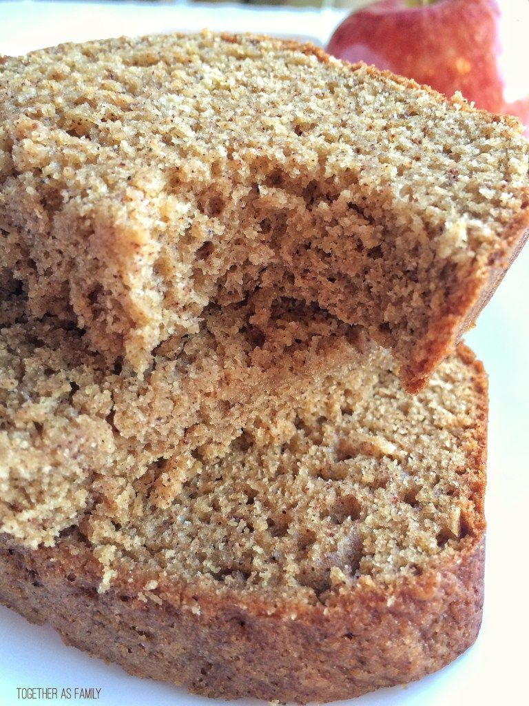 Whole Grain Cinnamon Applesauce Bread | Recipe | Dessert ...