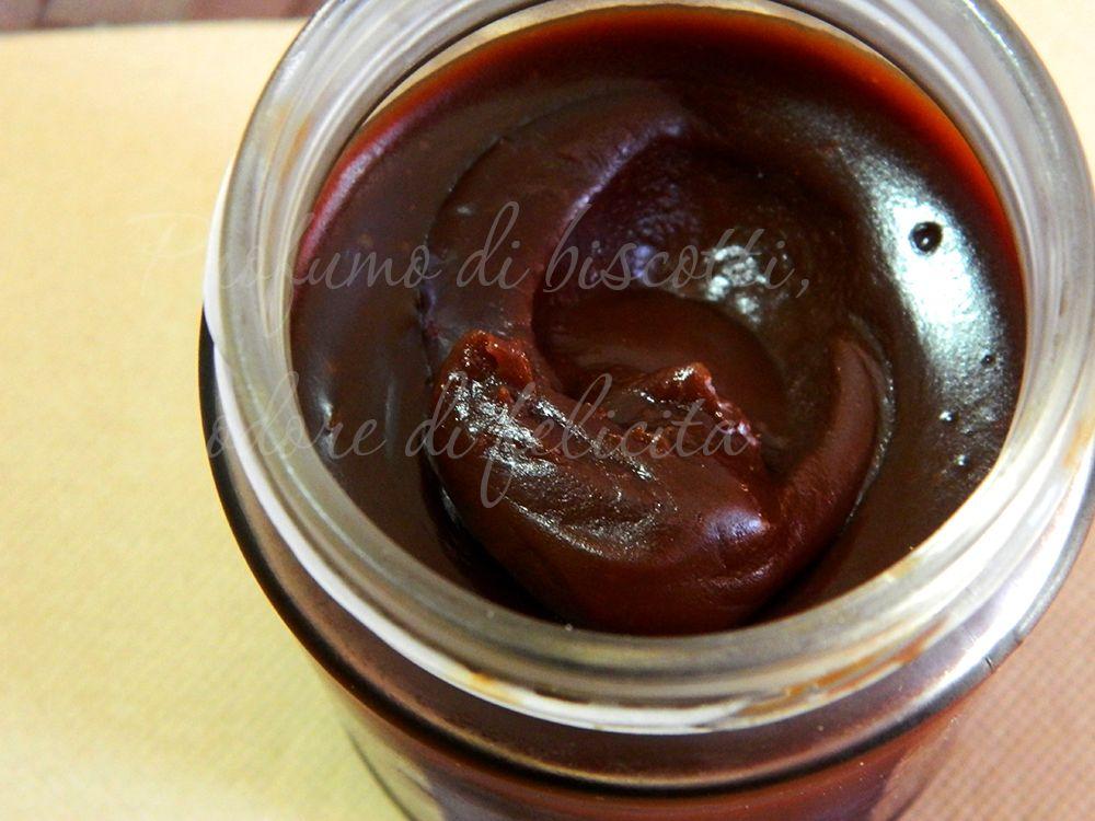 Ricetta Nutella Senza Nocciole.Crema Spalmabile Al Cioccolato Senza Nocciole Cioccolato Idee Alimentari Crema Spalmabile