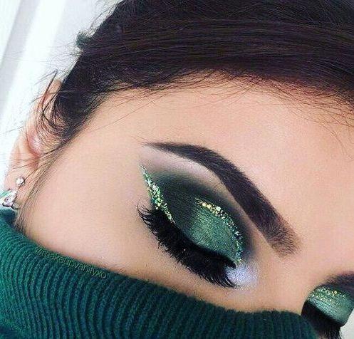 40+ Green Eyeshadow Looks Ideas