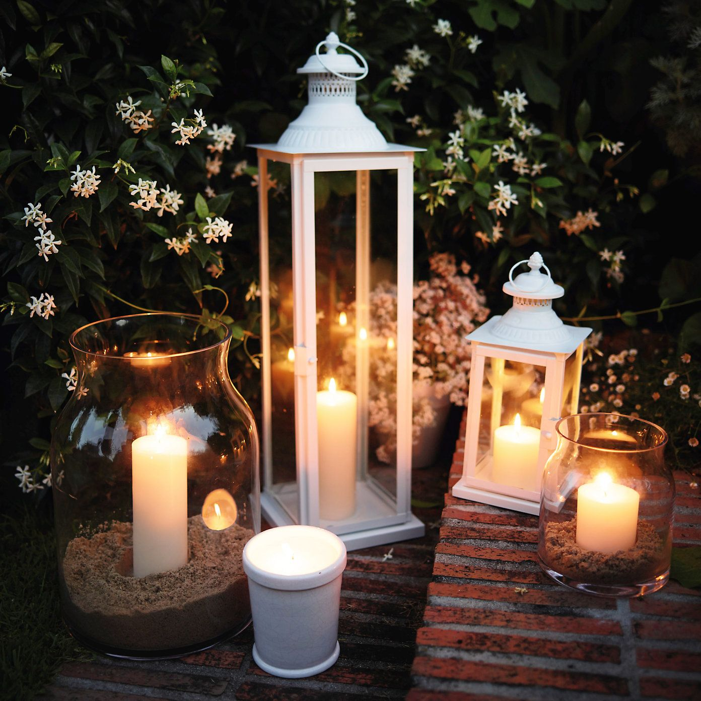 Vintage Lantern Large Vintage Lanterns Outdoor Candles Candles