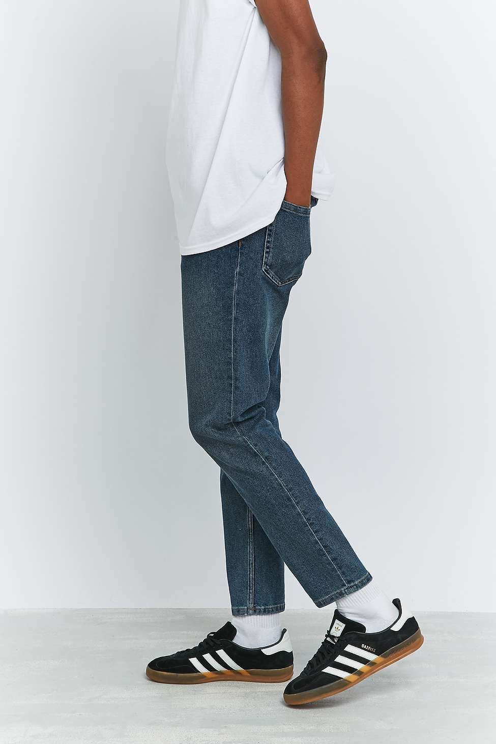 Loom Stone Wash Tapered Dad Jeans